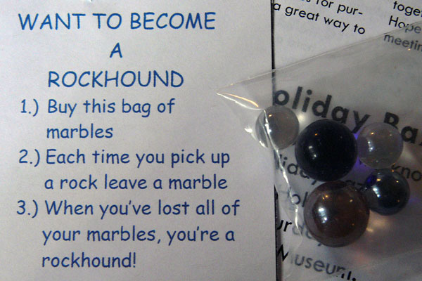Become a rock hound