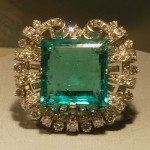 The Hooker Emerald, part of the National Gem Collection, visits courtesy of the Smithsonian Institute