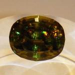 43.52 carat sphene (titanite)