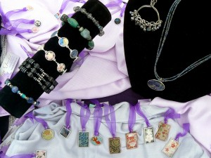 Bracelets, necklaces, pendants and earrings by Many Faceted