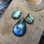 The unset stones.